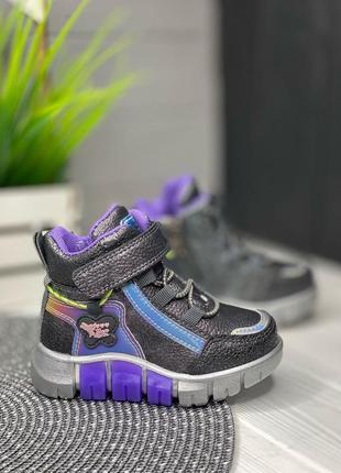 Детские весенние ботинки на девочку clibee