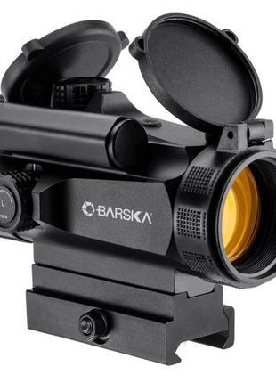 Прицел коллиматорный Barska AR-X Red Dot 1x30 HQ (Weaver/Picatinn