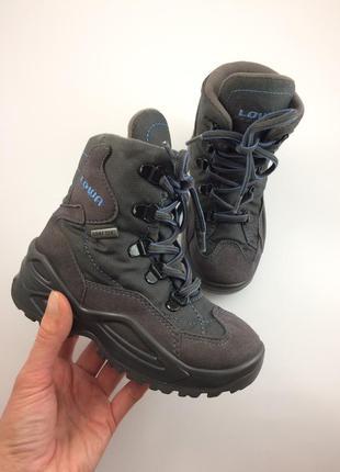 Lowa зимние термо ботинки