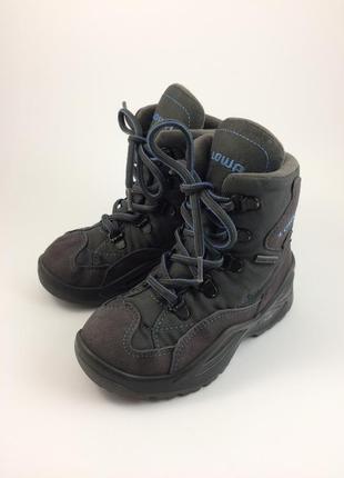 Lowa зимние термо ботинки gore-tex