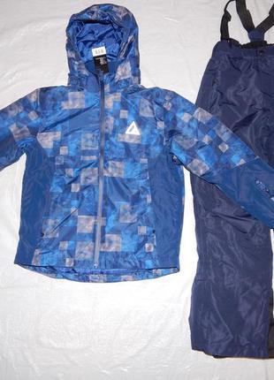 Р. 134-140, новый! лыжный термо костюм мембранный 3к crivit, г...