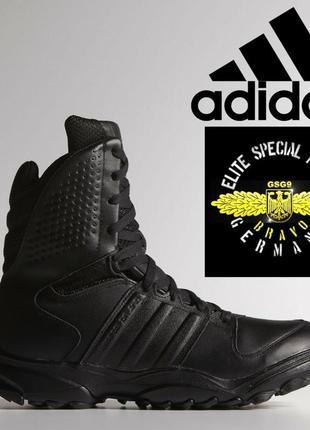 Ботинки тактические кожаные трекинговые адидас черевики тактич...