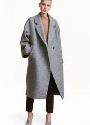 Стильное бойфренд пальто большого размера 6xl
