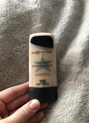 Тональний крем max factor lasting performance 105