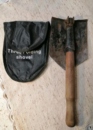 Лопата походная раскладная