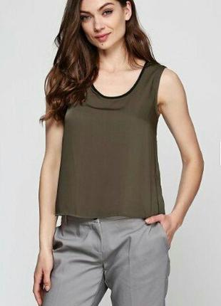 Элегантная блуза топ,майка,цвет хаки esmara германия.