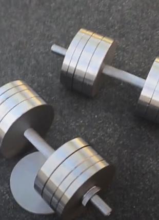 Гантели стальные 2 по 18 кг StD-18