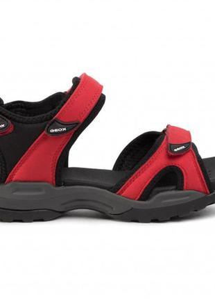 Geox d borealis сандали босоножки красные