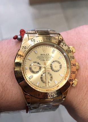 Наручные часы Rolex Daytona Automatic All Gold, Наручний годинник