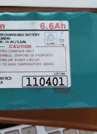 Аккумулятор от пылесоса  12NL660AH- 14.4в/6.6Ач