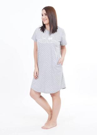 Женская рубашка платье для дома большой размер,одежда для дома...