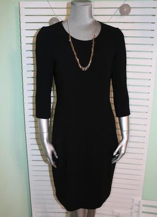 Черное миди платье strenesse