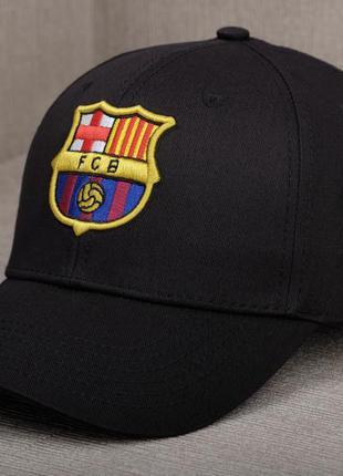 "Черная кепка fc barcelona / фк ""барселона"""