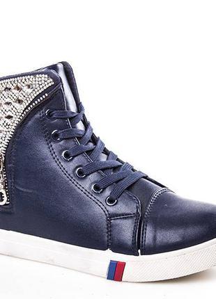 Стильные легкие деми ботинки, сапоги, хайтопы р.38