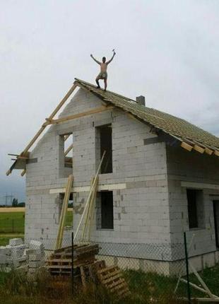 Зведення та ремонт дахів. Бригада. Лубни, виїзд