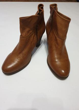 Ботинки  кожаные осень- весна