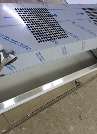Зонт приточно-вытяжной из нержавеющей стали с жироулавителями