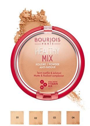 Bourjois пудра healthy mix powder