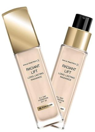 Max factor тональный крем radiant lift foundation spf 30