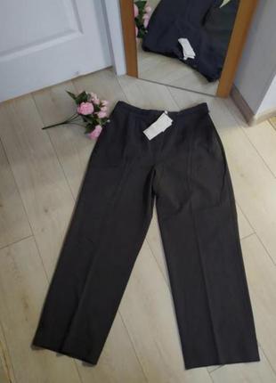 Брюки серые большой размер штаны 16 размер плюс сайз
