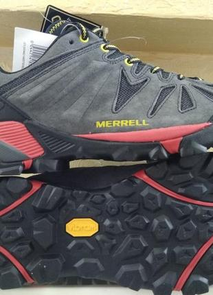 Зимние ботинки кроссовки merrell capra gore-tex low rise hikin...