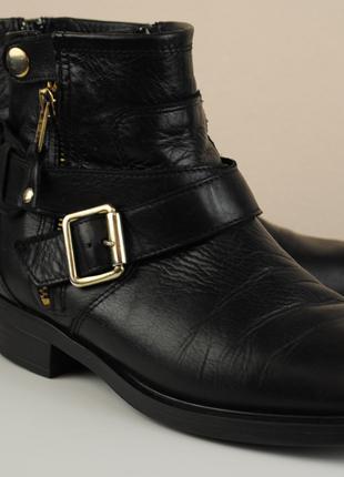 Ботинки кожаные женские осень-весна