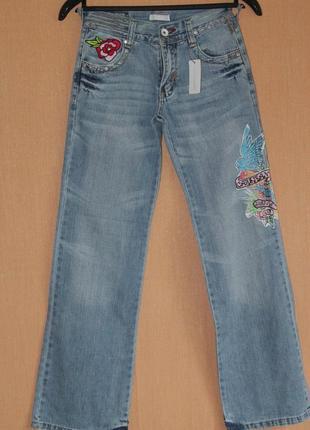 Новые женские джинсы с вышивкой Cars Jeans, размер 28м (16)
