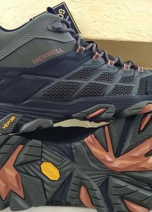 Зимние ботинки кроссовки merrell moab fast 2 mid gore-tex
