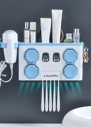 Подставка для зубных щеток / MULTIFUNTIONAL TOOTHBRUSH RACK ART-0