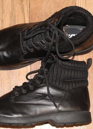 Утепленные ботинки fila оригинал