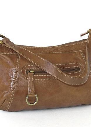 Аккуратная сумка, натуральная кожа
