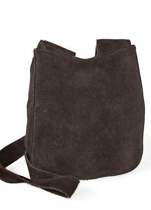 Интересная компактная сумка next, британия, натуральная замша