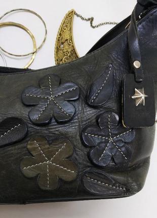 Очаровательная сумка tula, британия, натуральная кожа
