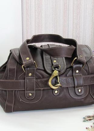 Интересная сумка, натуральная кожа