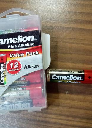 Алкалиновые Батарейки Camelion Plus Alkaline LR6 -12 (LR6-PBH12)