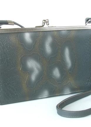 Изящная сумка, натуральная кожа.