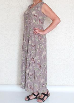 Шикарное длинное платье, халат jackpot, дания.