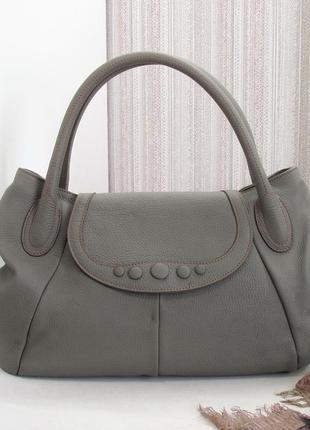 Шикарная сумка sofia c., италия, натуральная кожа. люкс бренд.