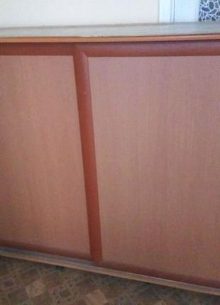 Шкаф не высокий