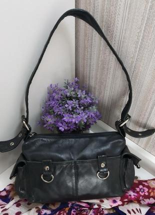 Аккуратная сумка sirco, италия, натуральная кожа