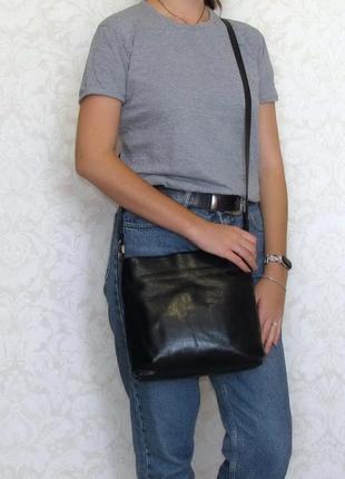 Породистая сумка adax, дания, натуральная кожа
