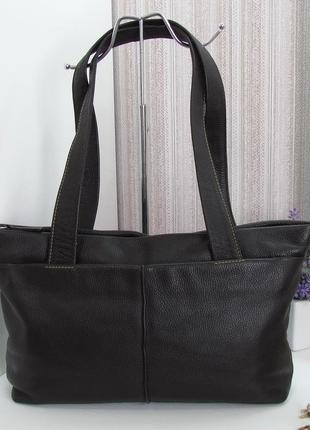 Шикарная сумка gerry weber, германия, натуральная кожа