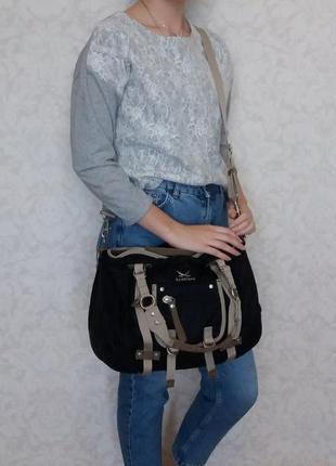 Крутая сумка sansibar, германия, текстиль.