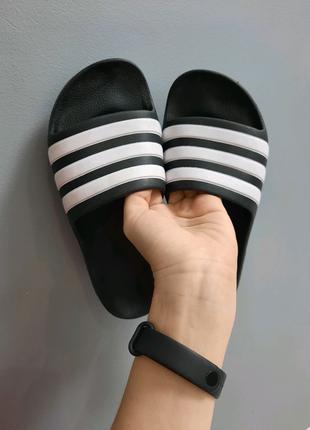 Оригинальные  шлепанцы adidas adilette aqua