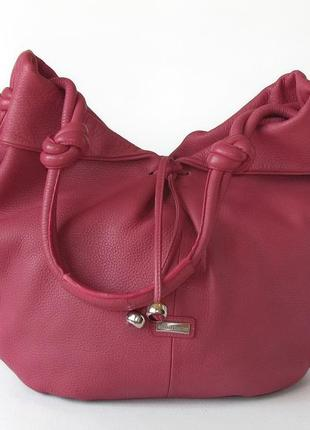 Большая эффектная сумка mashad leather, иран, натуральная кожа