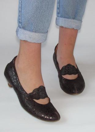Оригинальные туфли think!, австрия, натуральная кожа