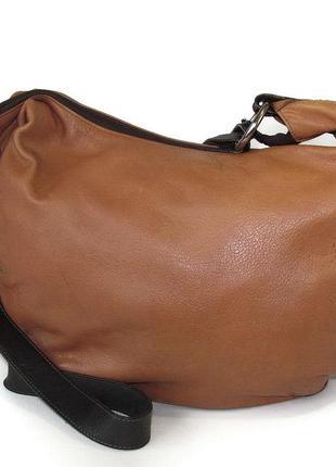 Практичная сумка thuskia, италия, натуральная кожа