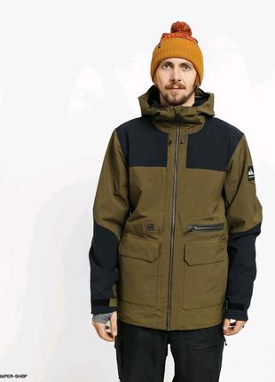 Сноубордическая куртка Mens Quiksilver Arrow Wood (grape leaf)