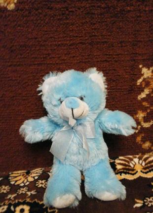 Мягкая игрушка мишка с бантиком с Европы