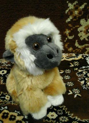 Мягкая игрушка обезьянка как настоящая с Европы